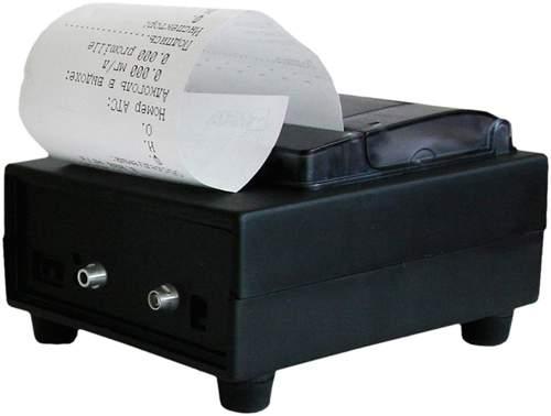 Алкотестер имеет внешний принтер