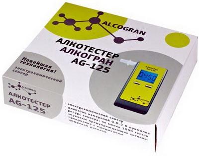 "Упаковочная коробка алкотестера ""Алкогран AG-125"""