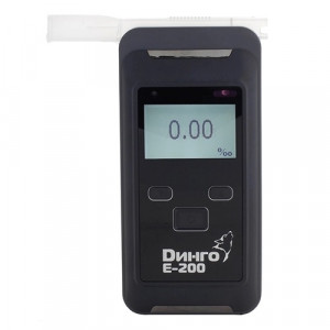 Алкотестер профессиональный Динго Е-200