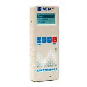 МЕТА Алкотестер-02 сертифицированный электрохимический
